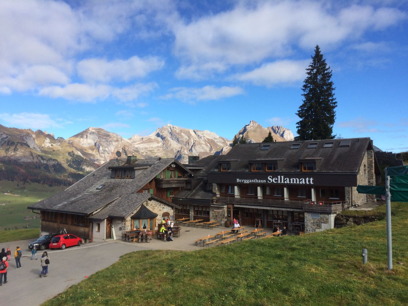 Klangweg Toggenburg mit Kinderwagen – Etappe Alp Sellamatt – Iltios
