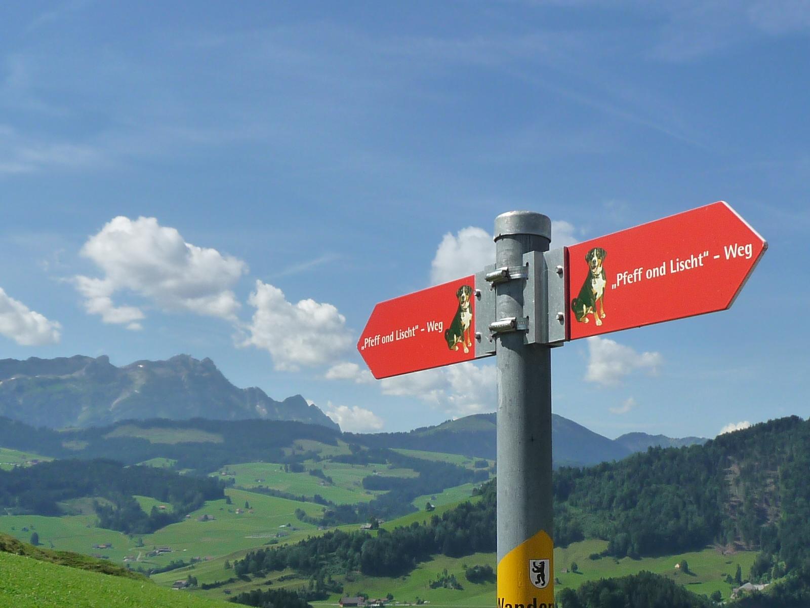 Pfeff ond Lischt Weg – eine Familienwanderung in Appenzell