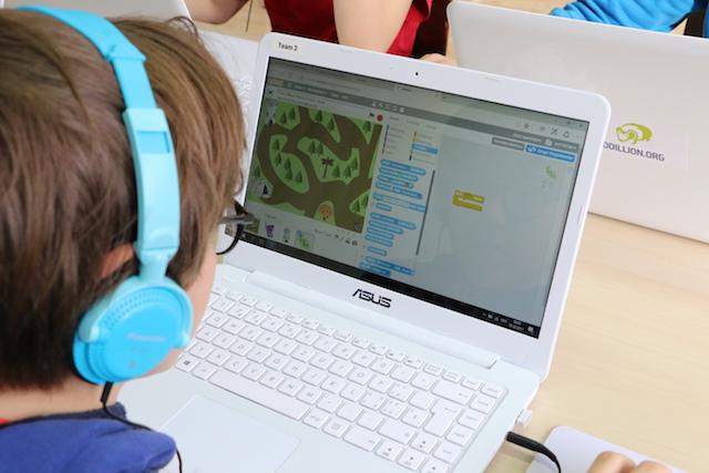 Computerkurse für kleine Kinder –  Spielerischer Zugang zur Programmiersprache