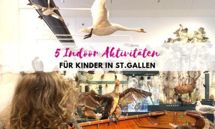 Schlechtwetterprogramm St.Gallen: 5 Indoor Aktivitäten für Kinder