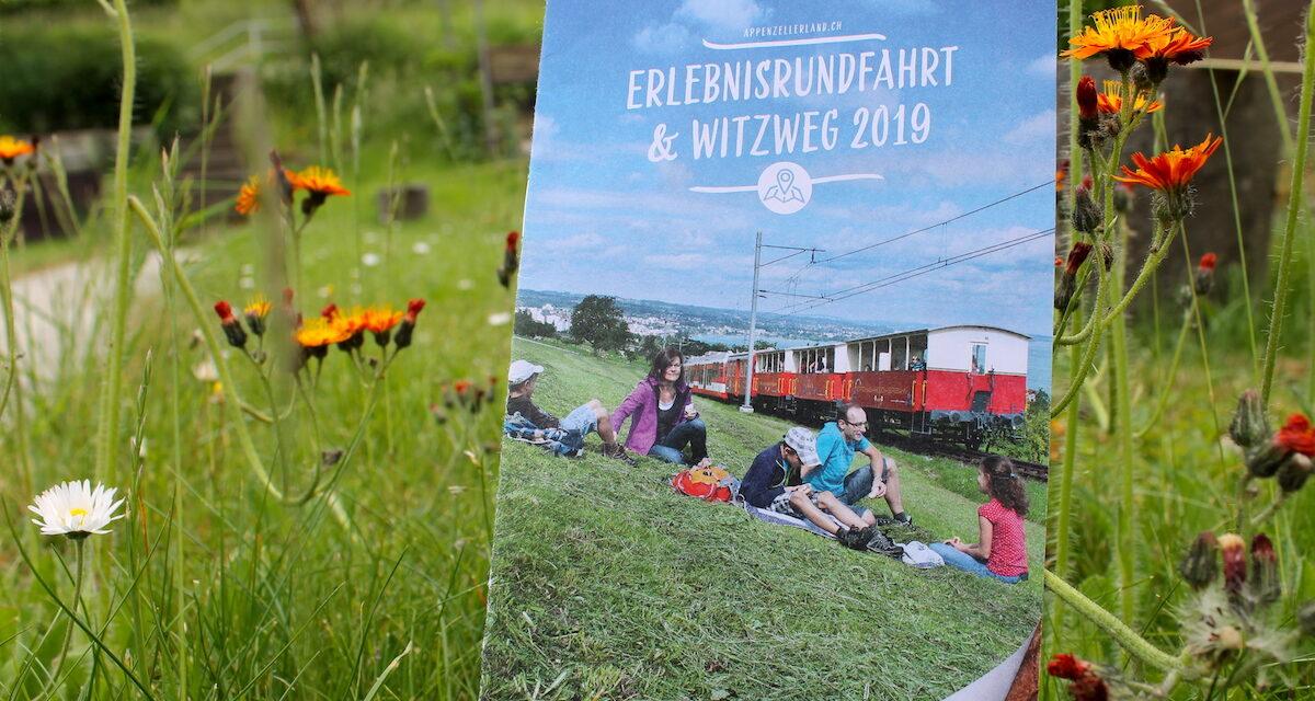 Die Erlebnisrundfahrt mit Witzweg im Appenzellerland ist der ideale Ausflug mit Kindern