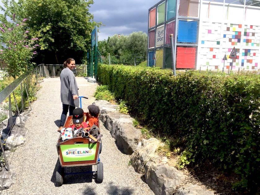 Ravensburger Spieleland – mit Zug und Schiff in den Freizeitpark