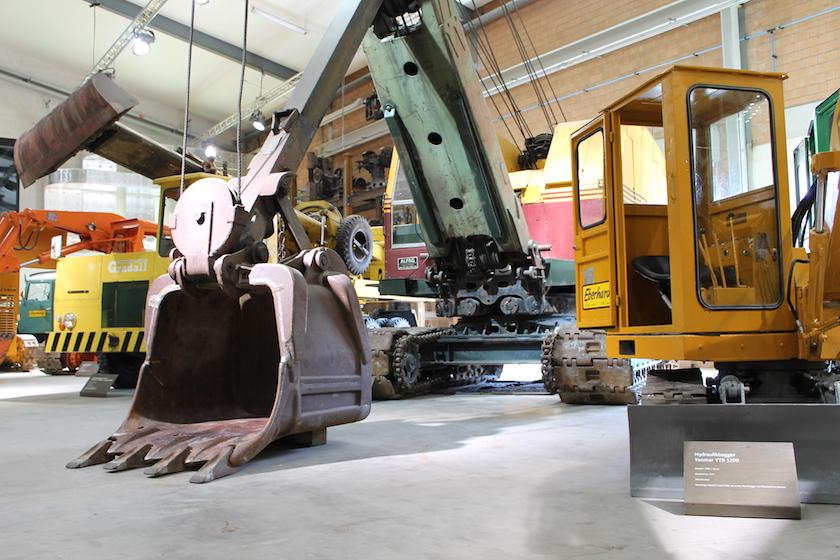 Baggermuseum EBIANUM – ein Fahrzeugtraum in Fisibach