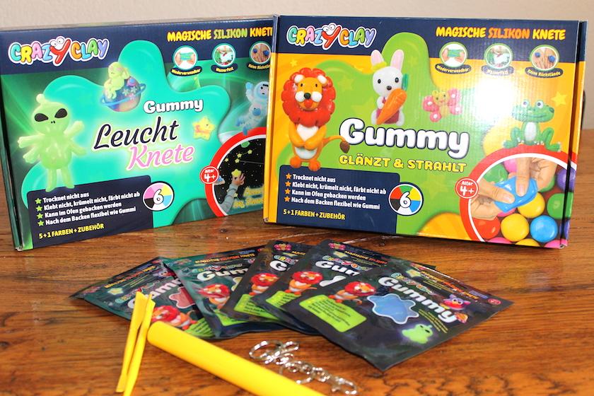 Produktetest: magische Silikonknete von CrazyClay – ahhh die leuchtet und so!