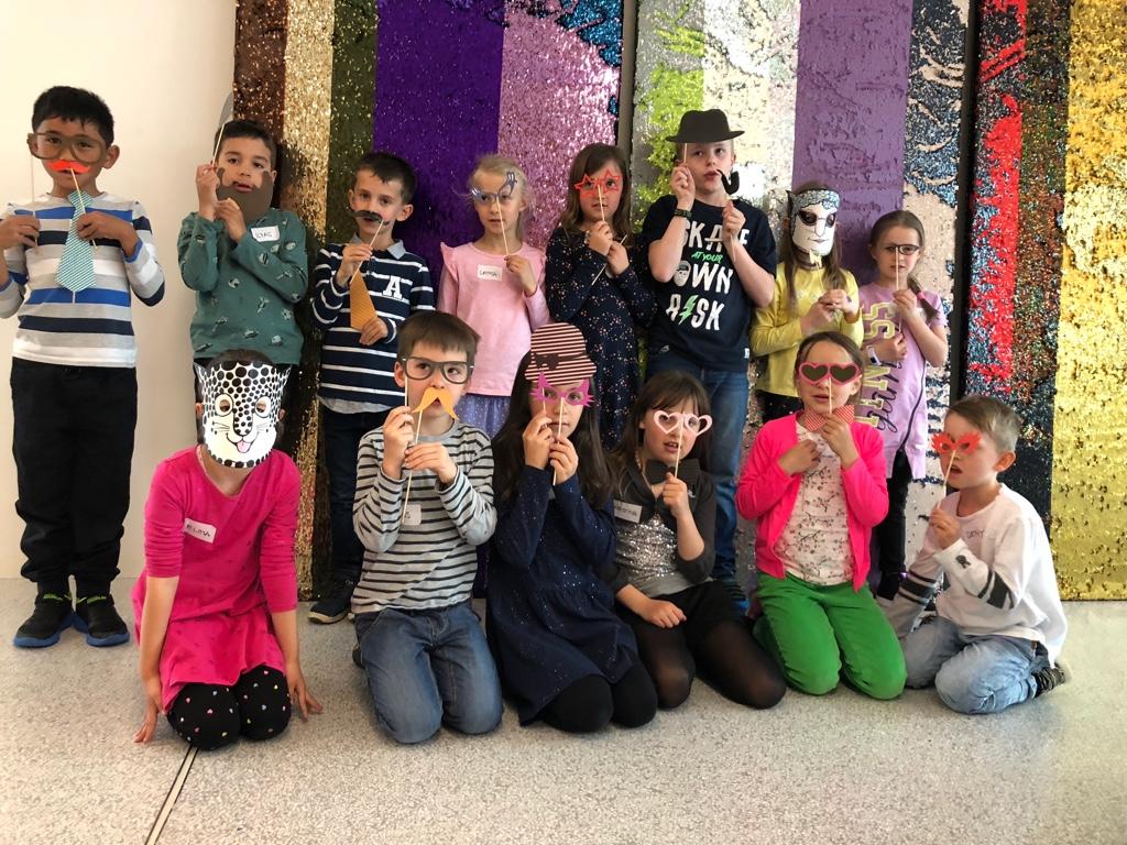 Kindergeburtstag im Forum Würth in Rorschach Ostschweiz