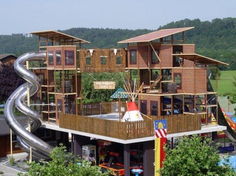 Freizeitpark Niederbüren – Schlechtwetterprogramm mit Austob-Garantie