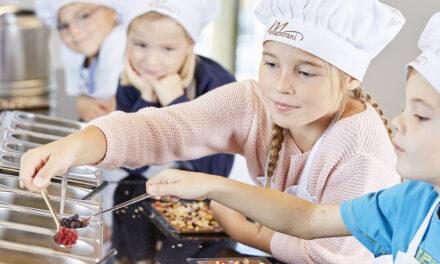 Kindergeburtstag in Maestrani's Chocolarium – der Schokoladenfabrik des Glücks