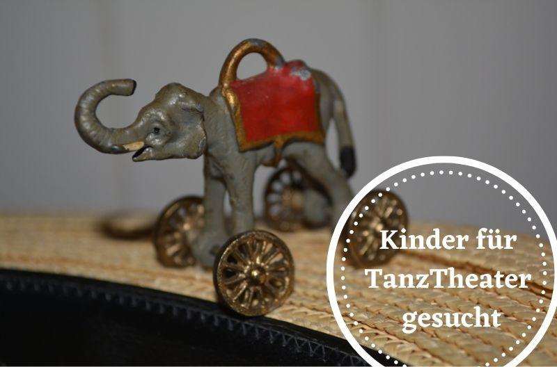 Die Elefanten auf Rädern suchen Kinder und Jugendliche für die TanzTheater Gruppe!