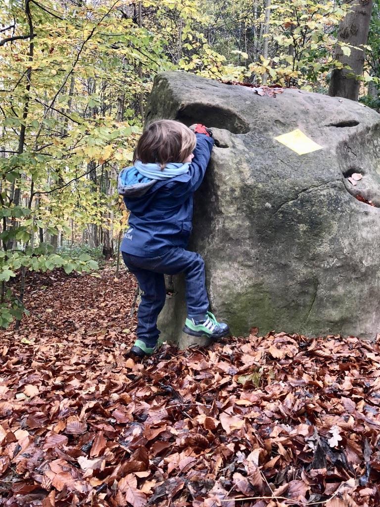 Die robuste Dreifeder Kinderjeans, der perfekte Begleiter für den Wald