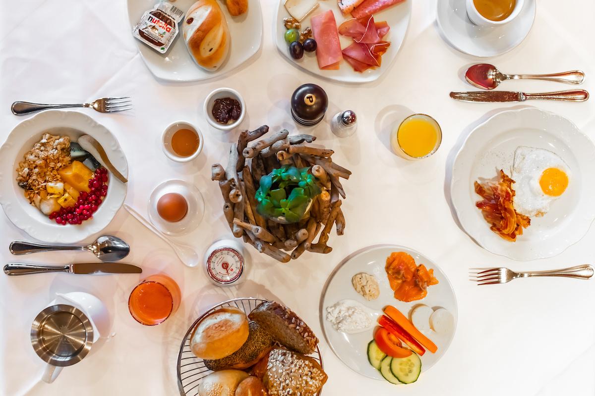 Frühstücken mit Kindern im Waldhotel Arosa
