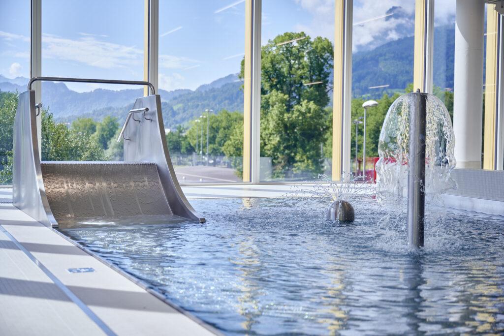 Hallenbad Allmend Luzern Planschen