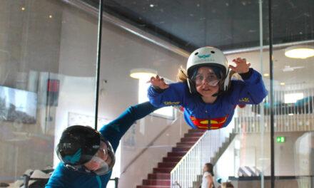 Adrenalinkick! Indoor Skydiving im Windkanal des Windwerk in Winterthur
